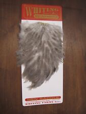 Fly Tying Whiting Farms Hen Saddle Natural Dun #A