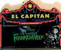 Disney Pin 92221 DSF Marquee Frankenweenie Victor and Sparky Tim Burton LE 500