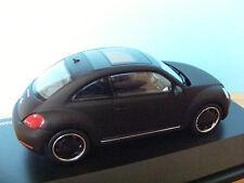 VW BEETLE New Shape Petrol 2litre  in matt black  1:43rd. Scale SCHUCO