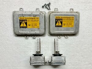2x OEM 06-09 Lincoln MKZ Zephyr Xenon Ballast & D1S Light Bulb Kit Control Unit