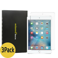 [3-Pack] SOINEED Tempered Glass Screen Protector Saver For Apple iPad Mini 4