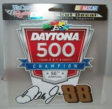 DALE EARNHARDT JR #88 DAYTINA 500 CHAMP WINCRAFT 8X8 PERFECT CUT DECAL STICKER
