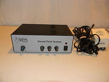 """PA Paging Amplifier XLR Microphone 1/4"""" Line RCA Mixer Preamp 4 Channel 50W"""