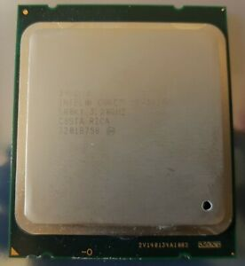 INTEL CORE i7 - 3930k processor, CPU 3.2 Ghz for LGA2011 socket. Working.