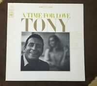 "Vintage 1966 Tony Bennett ‎""A Time For Love"" LP - Columbia (CS-9360) NM+"