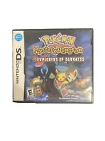 Pokemon Mystery Dungeon: Explorers of Darkness (Nintendo DS, 2008)