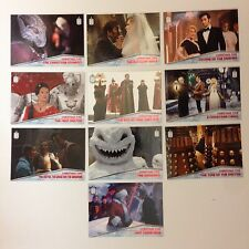 DOCTOR WHO (Topps/2015) Complete CHRISTMAS TIME Chase Card Set 10 #CT1-#CT10