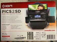 ION Pics 2 SD Photo, Slide & Film Scanner NEW IN BOX!!! with SD Card