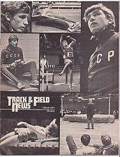 1971 Track and Field News USA Soviet Sapka Saneyev Ryun Von Ruden Shipp Haegg