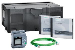 6ED1057-3BA01-0AA8 Siemens LOGO! 8.2 Starter-Kit 12/24RCE Starterkit LOGO! 24VDC