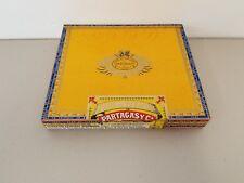 Partagas 1845 No. 10 Empty Wood Cigar Box