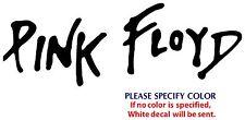 "Pink Floyd Metal Music Rock Band Funny Vinyl Sticker Decal Car Window Wall 7"""