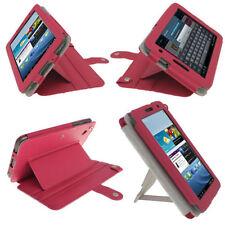 Carcasas, cubiertas y fundas rosa Galaxy Tab de piel para tablets e eBooks