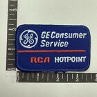 Vtg Color 1 GE CONSUMER SERVICE RCA HOTPOINT Appliances Advertising Patch 80MA photo