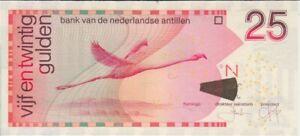 Netherlands Antilles banknote P29e 25 Gulden 1.6.2011,  UNC  We Combine