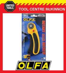 OLFA RTY-1/DX 28mm ROTARY CUTTER SEWING & QUILTING CRAFT CUTTER – MADE IN JAPAN