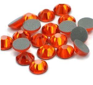 1440pcs HotFix Rhinestone Iron-On Beads Flatback Czech Seed Hyacinth SS16 4mm