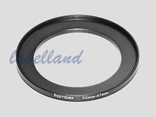 52mm-67mm Filter Adaptor Ring Converts 52mm lens thread to 67mm 52-67 Step-Up UK