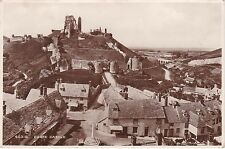 View Over The Rooftops, CORFE CASTLE, Dorset RP