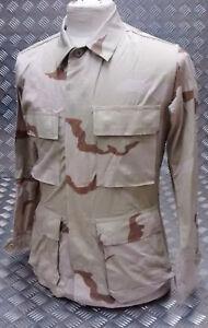 Genuine US Military Vintage Ripstop Combat Jacket Desert TRI Camo All Sizes NEW