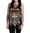 Metallica Master of Puppets Unisex Black Cotton Tank Top Vest Singlet Shirt