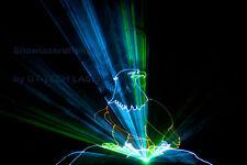3m x 3m Lasergewebe Lasergaze schwarz, konfektioniert, Laser Leinwand 3D Effekt