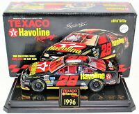 Ernie Irvan 1995 Collectors Die Cast Bank 1:24 Scale Texaco Havoline Car Ltd Ed