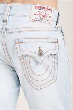 True Religion Men's Skinny Jeans w/ Flap Pockets in Sandy Wood