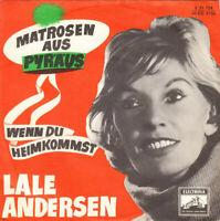 """Lale Andersen Matrosen Aus Pyräus 7"""" Single Mono Vinyl Schallplatte 53203"""