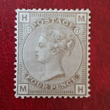 Gb Qv Four Pence Stamp Mint hinged Pls See Pictures