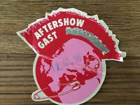 Die Ärzte- Original Klebe-Backstage Pass Aftershow von der Planet Punk Tour 1996