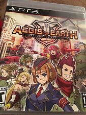 Aegis of Earth: Protonovus Assault (Sony PlayStation 3, 2016) Complete FAST SHIP