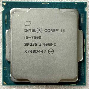 INTEL Core i5 7500 Quad Core @ 3.40Ghz CPU Processor Socket 1151