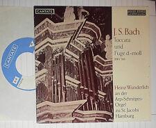 "BACH BWV 565 HEINZ WUNDERLICH ORGEL ORGAN ST. JACOBI HAMBURG 7 "" SINGLE"