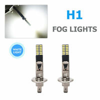 H1 24LED 4014-SMD Coche Headlight Luz Bombillas Lámpara 6500K DRL Blanco CANBUS
