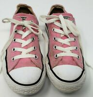 Converse All Star Girls Youth Size 2 Pink Classic Chuck Taylor Sneakers - 3J238