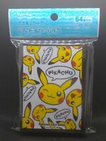 Pokemon center JAPAN - Pikachu Pikachu card Deck Shields (64 Sleeves)
