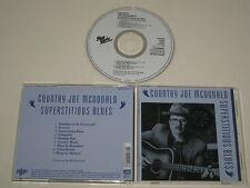COUNTRY JOE MCDONALD/SUPERSTITIOUS BLUES(LINE/RAG BABY RBCD 9.00942 O) CD ALBUM