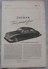1955 Jaguar Original advert No.1