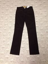 Jcrew Brand New With Tag Dark Brown Corduroy Pant 25S