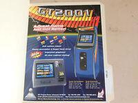 GT 2001    ARCADE GAME  FLYER