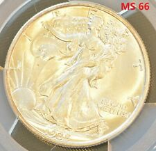 1935 US Walking Liberty Half Dollar 50 Cent Silver Coin PCGS MS 66
