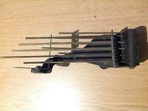 Antique Westminster Chime Gong Mantle or Wall Clock Spare Part Rods to 22cmx6cm
