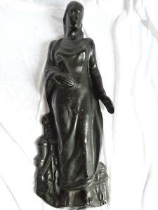 Heilige Barbara, Metallfigur