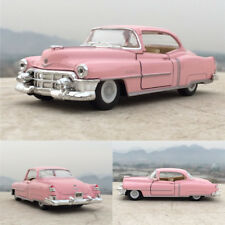 "Cadillac 1953 Open two doors 1:43 Toys 5"" Alloy Diecast Model Pink Cars Gift New"