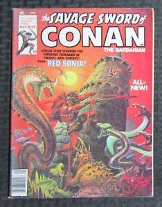 1978 SAVAGE SWORD OF CONAN Magazine #29 FN+ 6.5 Ernie Chan / Red Sonja
