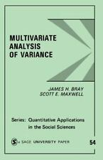Multivariate Analysis of Variance (Quantitative Applications in the Social Scien