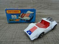Matchbox Superfast Vintage Lesney Hellraiser No 55 Diecast Toy Car 1975 Boxed
