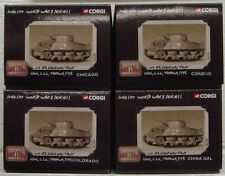 CORGI MILITARY US51009 1/50 M4 A3 Sherman Tank USMC Tarawa 1943 Full Set of 4