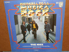 The Nice - Historia De La Musica Rock No.25 Spanish LP - Philips 6841 150
